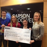 Carson McDowell raises over £700 for Barnardo's NI