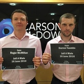 Carson McDowell partners do time for Cancer Focus