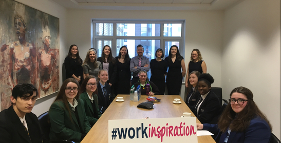 Carson McDowell Hosts Work Inspiration Session for Local Schools