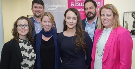 Arts & Business NI, hosted its 'Director Connector' business networking event in Belfast Exposed